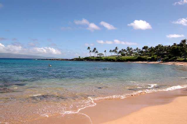 Beautiful Kapalua Bay Ceremonies Held Here Are Allowed On The Beach Itself Only No Exceptions This Is Best For West Maui Sunset